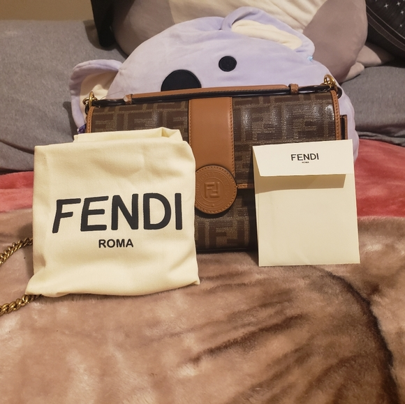 Fendi ff womens shoulder bag